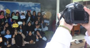 Stand Photo Booth SMK Tri Sukses Natar